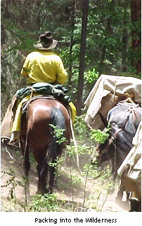 horseback riding in the Black Range