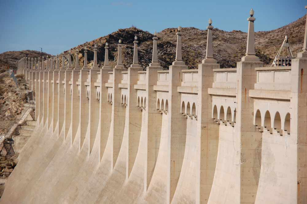 Elephant Butte Dam, built in 1916