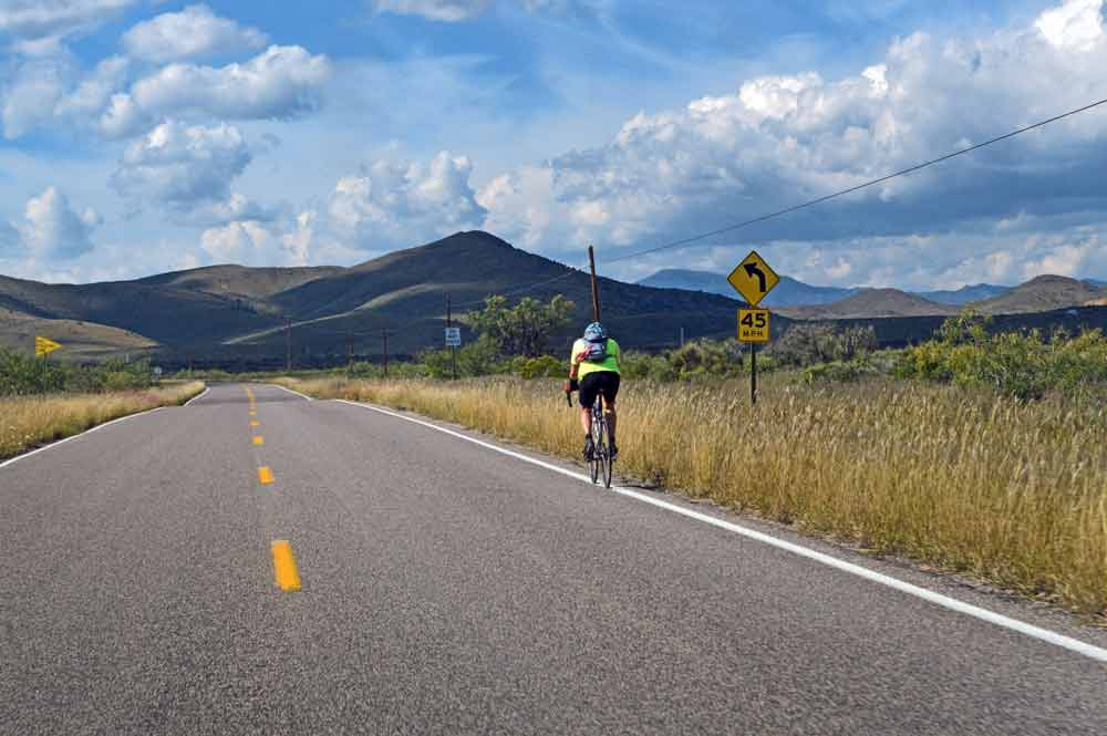Road biking in Sierra County