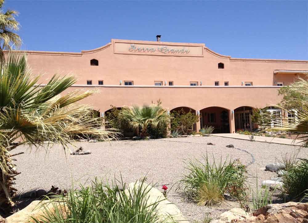 Sierra Grande Lodge entrance