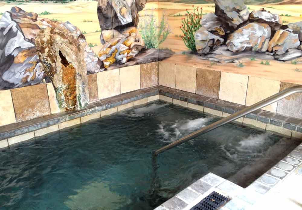 Sierra Grande Lodge bath