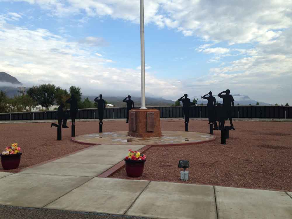 The Wall - Veterans Memorial Park, Truth or Consequences