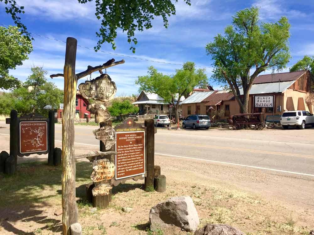 the Black Range Museum in Hillsboro New Mexico