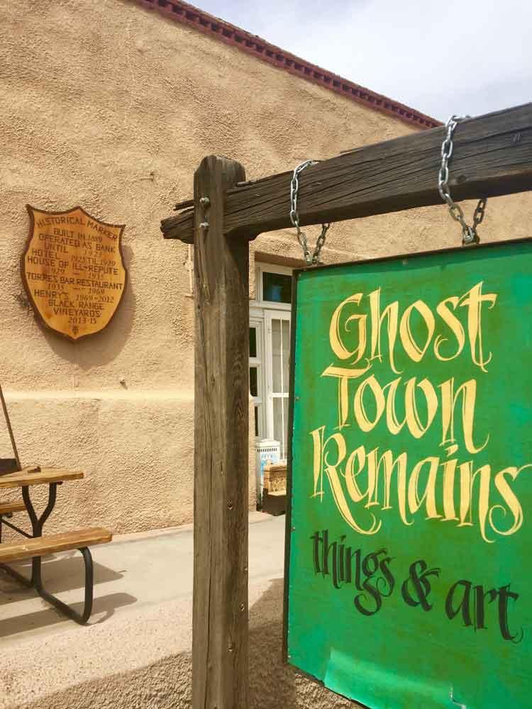 Ghost Town Remains, Hillsboro NM