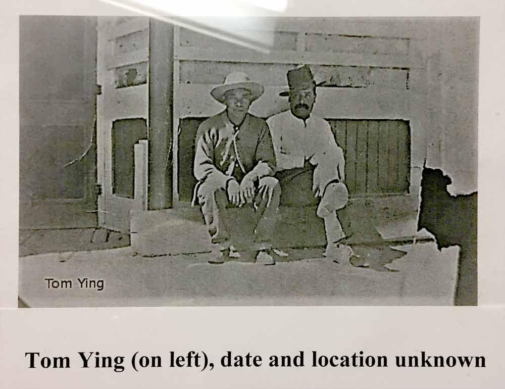 Tom Ying, Hillsboro New Mexico