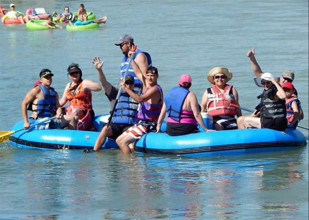 floating the Rio Grande with Whitewater Weekends
